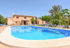 Ruhig gelegene Finca für 10 Personen mit Pool (Nr. 3040)