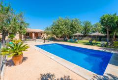 Mallorquines Ferienhaus mit Pool (kindersicher) und Klimaanlage (Nr. 3041)