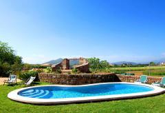 Ferienhaus mit Pool in ländlicher Lage am Meer - Alcudia (Nr. 3064)