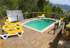 Natursteinfinca mit Pool bei Selva (Nr. 3068)