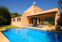 Klimatisiertes Ferienhaus mit privatem Pool bei Sa Pobla (Nr. 3074)