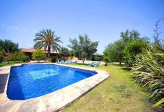 Klimatisierte Finca mit Pool und Tennisplatz  (Nr. 3087)