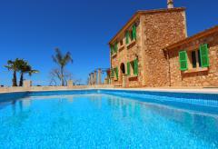 Finca mit Pool im Süden von Mallorca - Ferienregion Es Trenc (Nr. 3088)