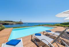 Strandnahe Villa mit Pool und Klimaanlage am Meer (Nr. 3099)