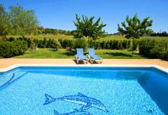 Privates Ferienhaus auf dem Land mit Pool (Nr. 3109)