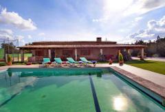 Finca mit Pool, Tennisplatz und Klimaanlage - für Familien mit Kindern (Nr. 3130)