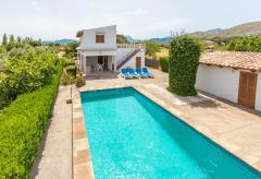 Kleines Ferienhaus mit Pool, Klimaanlage und Garten (Nr. 3131)