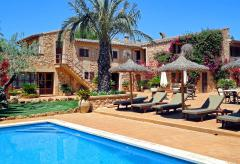 Mallorquines Finca-Hotel mit Pool bei Campos (Nr. 0317)