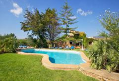Familienurlaub - Ferienhaus mit Pool und Garten (Nr. 0329.3)