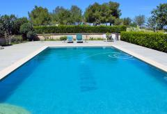 Ferienhaus mit Pool und herrlichem Panoramablick bei Sineu (Nr. 0337.1)