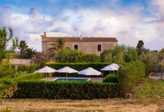Finca Mallorca mit Apartments und Pool auf dem Land (Nr. 0337.2)