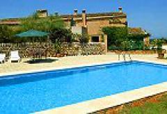 Ferienwohnungen mit Pool - Finca Mallorca (Nr. 0345)