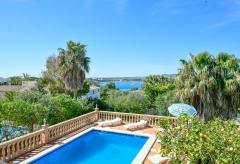 Ferienhaus mit Pool und Meerblick in Porto Colom (Nr. 0404)