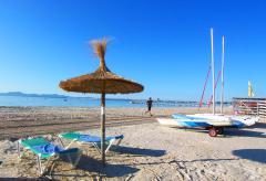 Mallorca Ferienwohnung am Strand von Alcudia (Nr. 0409)
