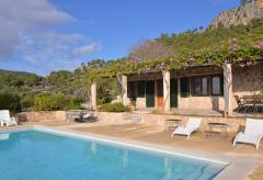 Mallorca Finca mit Pool und Meerblick im Südwesten (Nr. 0410)