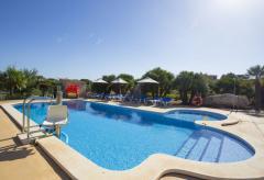 Klimatisierte, barrierefreie Finca mit eingezäuntem Pool (Nr. 0428)