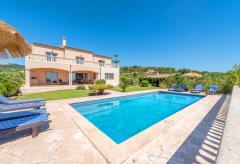 Golfurlaub Mallorca - Ferienhaus mit Pool am Golfplatz (Nr. 0431)