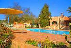 Ferienhaus mit Pool und Garten bei Lluchmajor  (Nr. 0435)