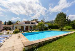 Ferienhaus mit Pool und Garten bei Pollenca (Nr. 0436)