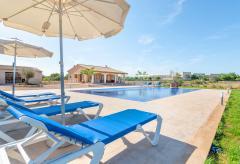 Ferienhaus mit Pool, Whirlpool und Klimaanlage bei Campos (Nr. 0457)