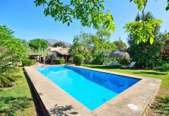 Finca mit Pool und Klimaanlage in ruhiger, ländlicher Lage (Nr. 0464)