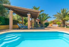 Ferienhaus mit Pool und Klimaanlage - Cala Santanyi (Nr. 0480)