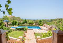 Ferienhaus mit Pool am Golfplatz (Vall d'Or Golf) (Nr. 0494)