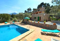 Chalet mit Pool und Meerblick bei Valldemossa (Nr. 0498)