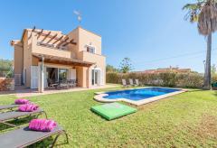 Cala Murada - Strandnahes Ferienhaus mit Pool und Klimaanlage (Nr. 0609)