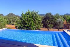 Finca mit Pool bei Son Servera - Golfurlaub (Nr. 0616)