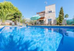 Ferienhaus mit Pool und Klimaanlage - Strandurlaub Cala Murada (Nr. 0626)