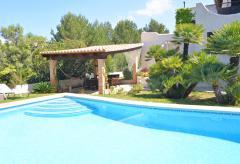 Urlaub auf Mallorca - Finca mit Pool, Garten und Meerblick (Nr. 0633)
