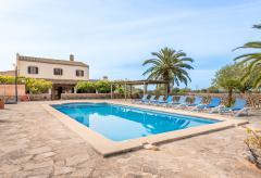 Große Finca mit Pool für 16 Personen - ideal für Gruppen (Nr. 0635)