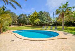 Große Finca für 8 Personen mit Pool und Garten (Nr. 0639)