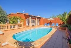 Strandnahes Ferienhaus mit Pool - Cala Magrana (Nr. 0647)