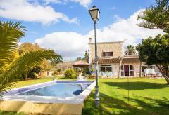 Ferienhaus mit Pool und Klimaanlage bei Muro (Nr. 0653)