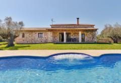 Komfortable Finca Mallorca mit Pool und Whirlpool (Nr. 0655)