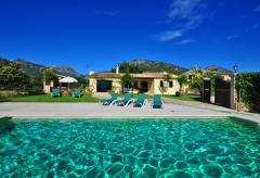 Ferienhaus mit Pool bei Campanet (Nr. 0663)