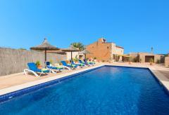 Mallorca Urlaub nahe dem Es Trenc Strand - Finca mit Pool (Nr. 0666)