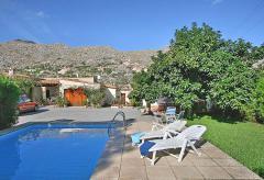 Finca mit Swimmingpool bei Pollenca, Mallorca (Nr. 0673)