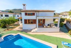 Strandnahes Ferienhaus mit Pool in Puerto Pollenca (Nr. 0674)