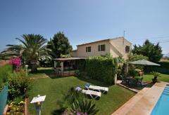 Ferienhaus mit Pool und Garten bei Port de Pollenca (Nr. 0676)
