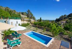 Mallorca Ferienhaus mit Pool in den Bergen bei Galilea (Nr. 0688)
