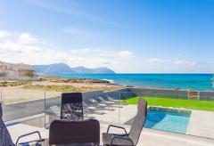 Mallorca Urlaub am Meer - strandnahes Ferienhaus mit Pool (Nr. 0689)