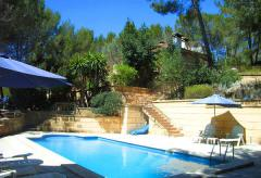 Mallorca Andratx: Großes Ferienhaus mit Pool und Meerblick (Nr. 0691)