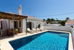 Ferienhaus mit Pool und Klimaanlage - Cala en Porter (Nr. 0500)