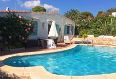 Menorca strandnahes Ferienhaus mit Pool (Nr. 0501)