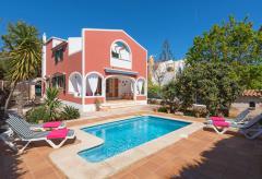 Strandnahes Ferienhaus mit Pool bei Ciutadella (Nr. 0502)
