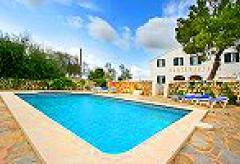 Menorca großes Ferienhaus mit Pool und Internet nahe Alaior (Nr. 0509)