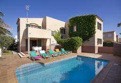Ferienhaus mit Pool in Cala Blanca (Nr. 0517)